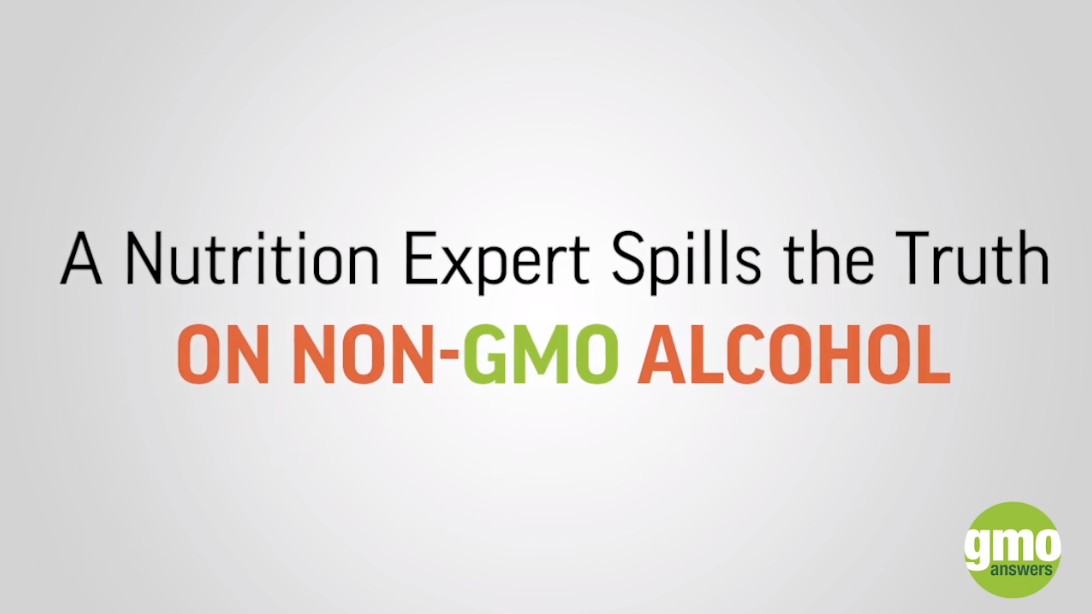 A dietitians take on the gmo free alcohol trend