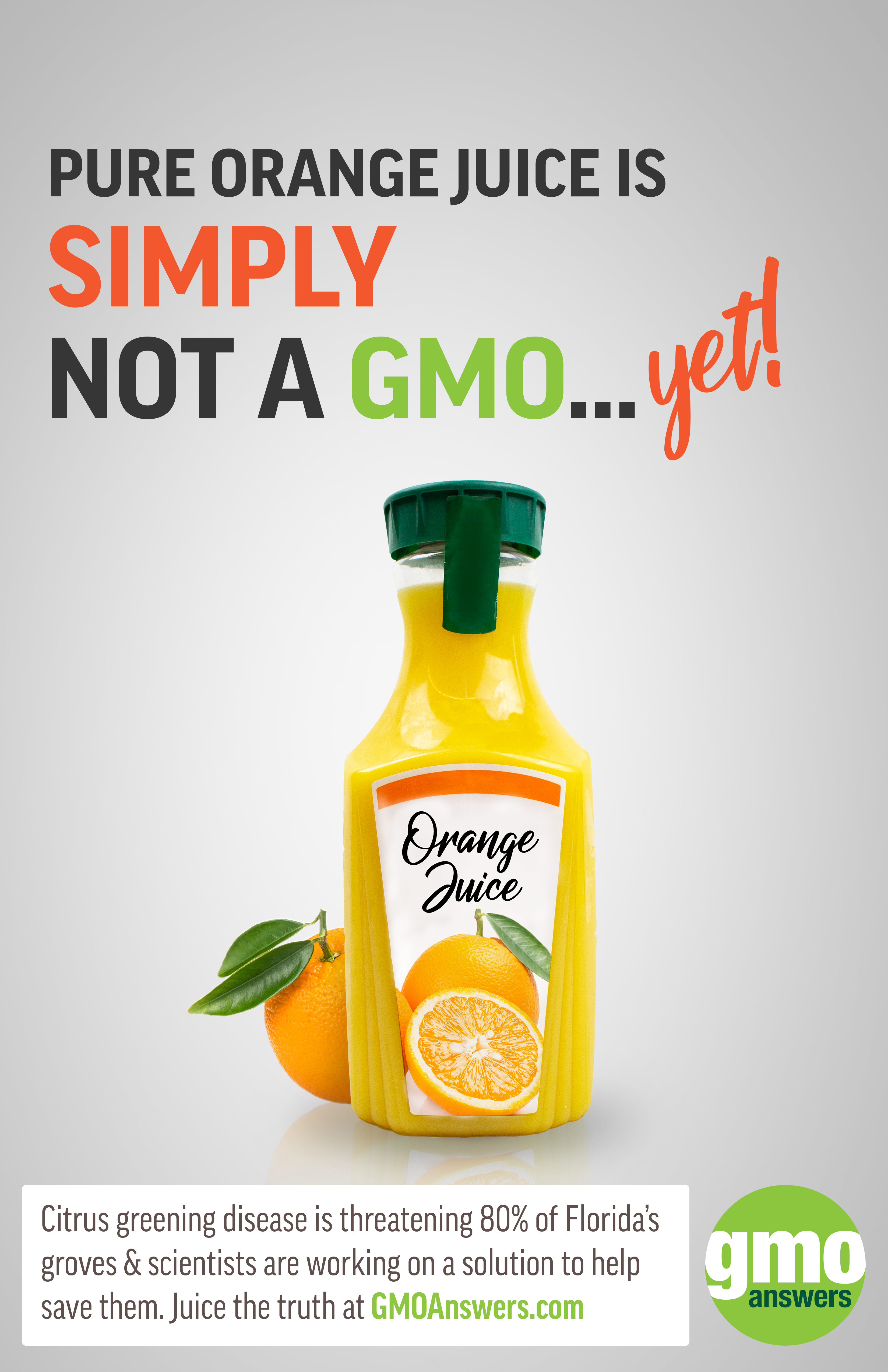 SOCIAL TILE: GMO Orange Juice Mythbuster