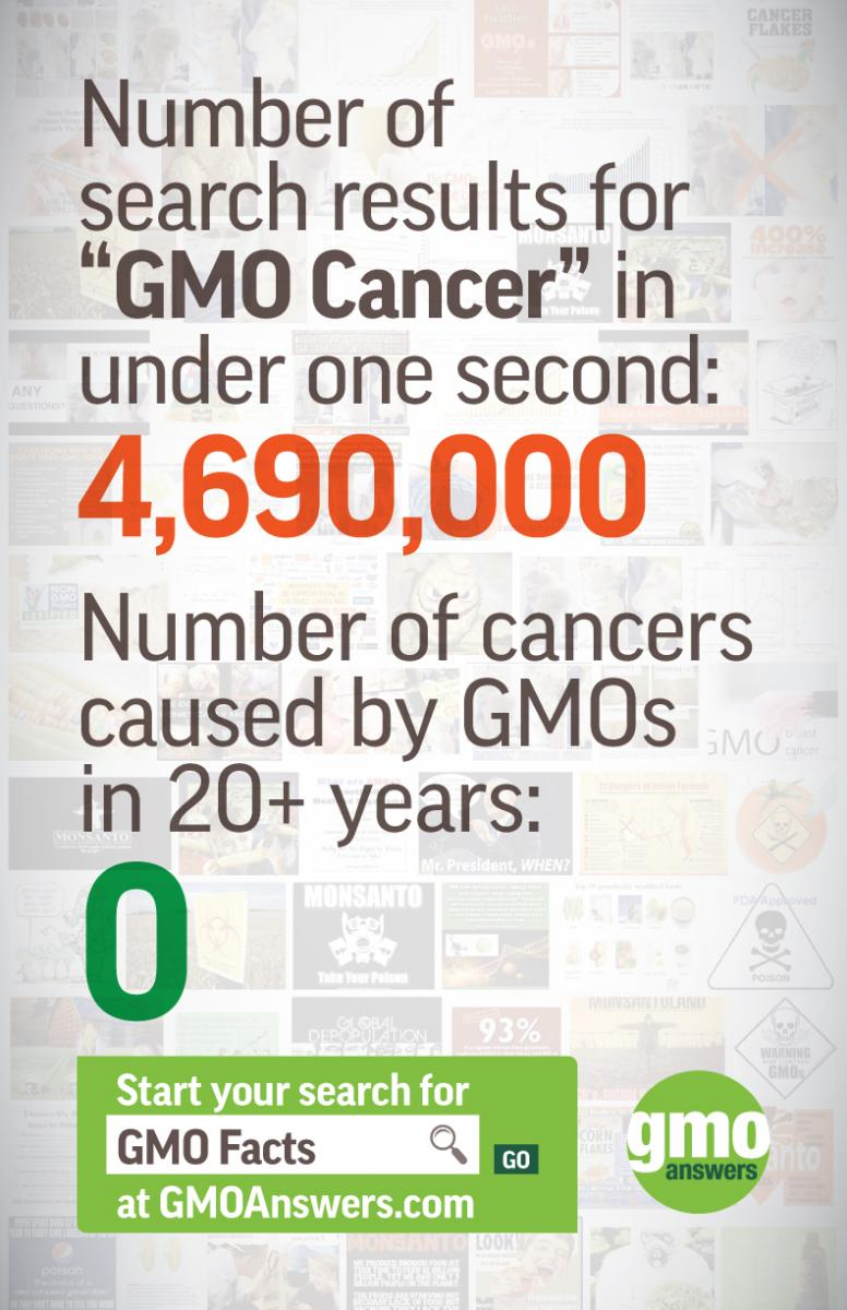 gmos and cancer search