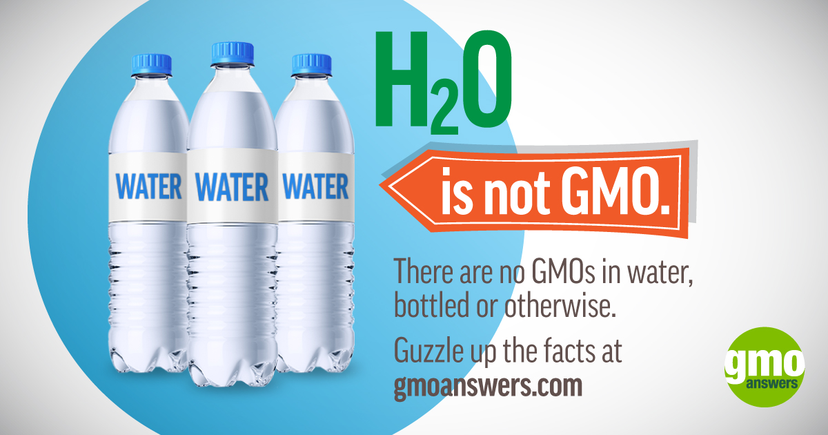 water is not gmo